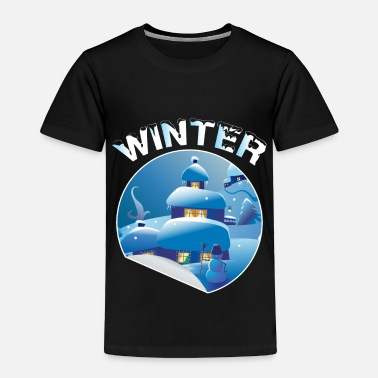 Winter winter - Toddler Premium T-Shirt