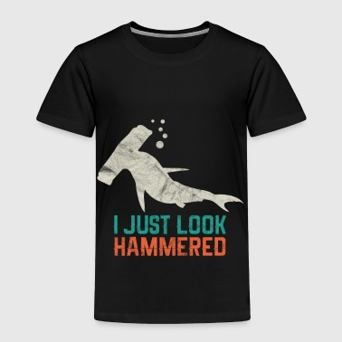 Animal Print - I Just look Hammered - Toddler Premium T-Shirt