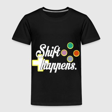 Computer Shift Happiness - Toddler Premium T-Shirt