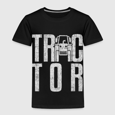 Tractor Gift surprise christmas kids children - Toddler Premium T-Shirt