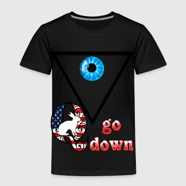 Q go down - Toddler Premium T-Shirt