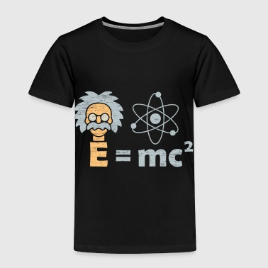 Mc E=mc ² Einstein Illustration birthday nerd gift - Toddler Premium T-Shirt