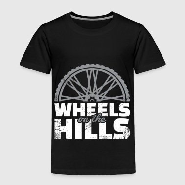 Wheels on the Hills Downhill christmas gift cyclis - Toddler Premium T-Shirt