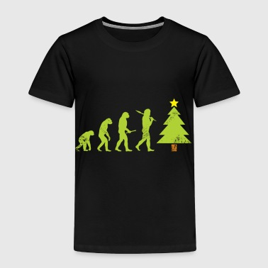 Evolution Christmas Tree kids gift ugly christmas - Toddler Premium T-Shirt
