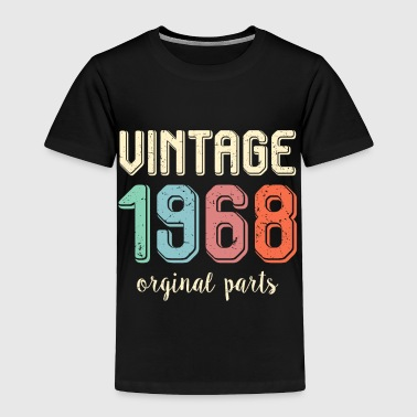 1969 Vintage Retro 1968 50 Years Old 50th Birthday Gift - Toddler Premium T-Shirt