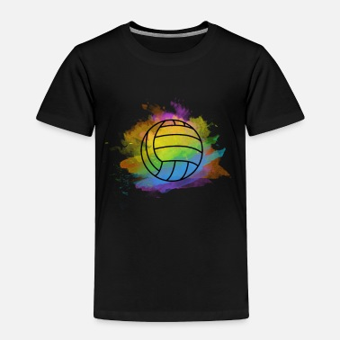 Beach Volleyball volleyball colorful bright cool nice gift idea - Toddler Premium T-Shirt