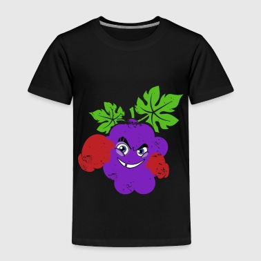 Christmas Grapes with boxing gloves funny kids gift - Toddler Premium T-Shirt