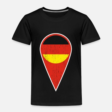 Baltic Sea German Spot Needle Gift Germany Symbol - Toddler Premium T-Shirt