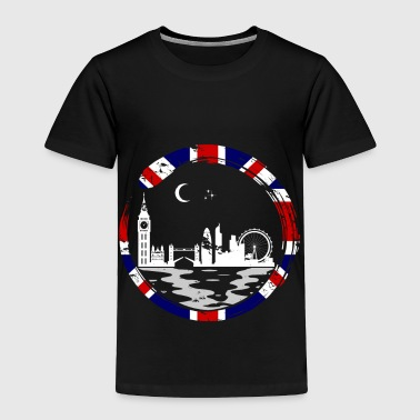 Manchester London Lover Gift Christmas Birthday England - Toddler Premium T-Shirt