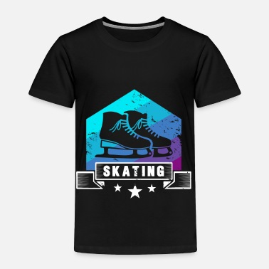 Partner Ice skating ice gift short track speed skating - Toddler Premium T-Shirt