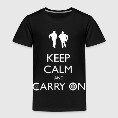 Supernatural keep calm and carry on - Toddler Premium T-Shirt
