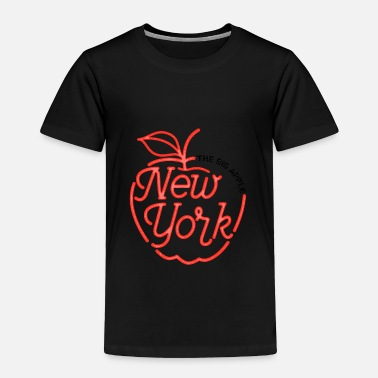 Big Apple The Big Apple New York - Toddler Premium T-Shirt
