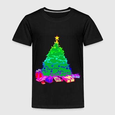 Poinsettia Christmas tree | conspicuous gift star - Toddler Premium T-Shirt
