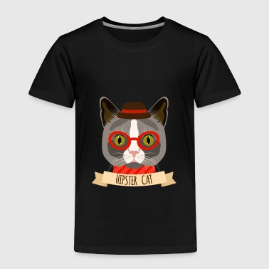 Hipster Cats Hipster Cat - Toddler Premium T-Shirt