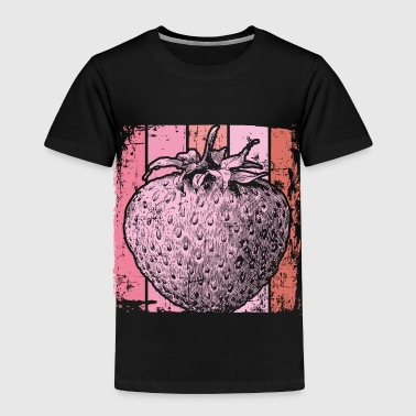 Pink Strawberry - Toddler Premium T-Shirt