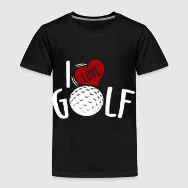 Sportscar Golf - Toddler Premium T-Shirt