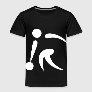 bowling - Toddler Premium T-Shirt