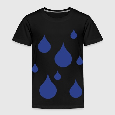 raindrops - Toddler Premium T-Shirt