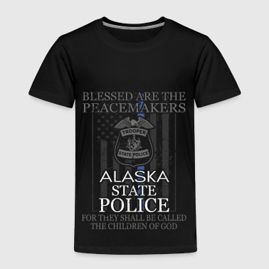 Alaska State Trooper T Shirt Police Support - Toddler Premium T-Shirt