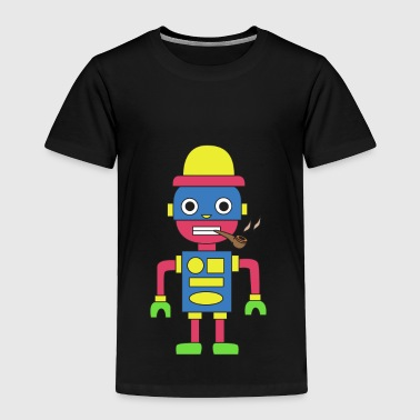 Pipe Smoking TShirt For Pipe Smoker Shape Pipe - Toddler Premium T-Shirt
