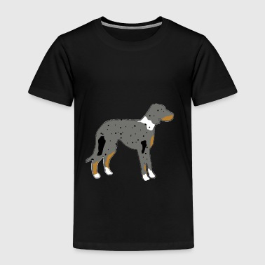 catahoula leopard dog sil - Toddler Premium T-Shirt