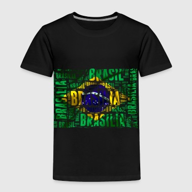 Brazil flag - Toddler Premium T-Shirt