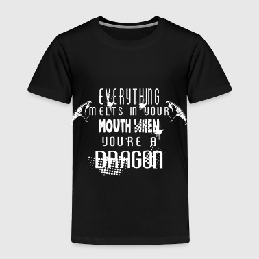 Boat Dragon - Toddler Premium T-Shirt