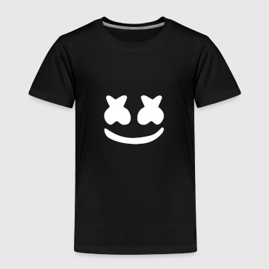 Marshmallow Smiley with Marshmallows - Toddler Premium T-Shirt