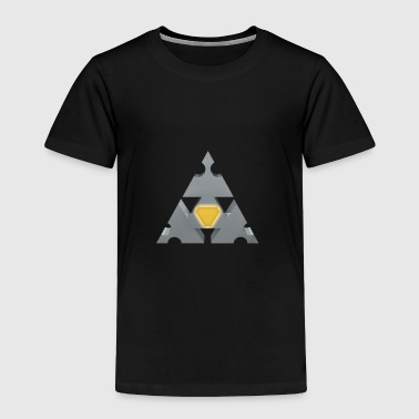 The triangle of stability - Toddler Premium T-Shirt