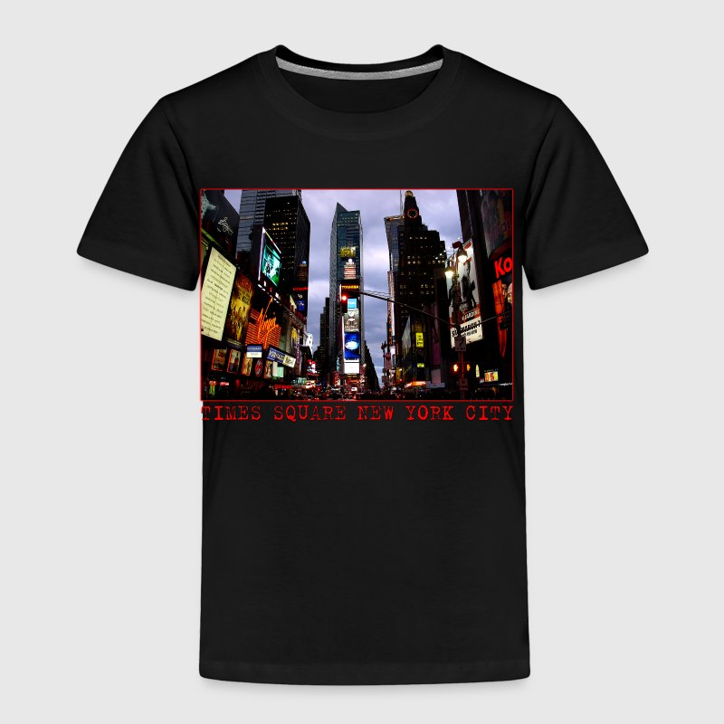 Times Square New York Souvenirs - Toddler Premium T-Shirt