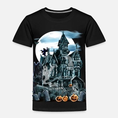 Haunted Haunted House  - Toddler Premium T-Shirt