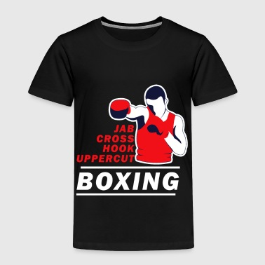 Jab Funny Boxing Boxer Sports Fight Fighter Battle Gift Fun - Toddler Premium T-Shirt