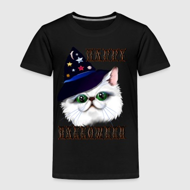 Happy Halloween Witch Kitty - Toddler Premium T-Shirt