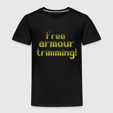 Runescape on top free armour - Toddler Premium T-Shirt