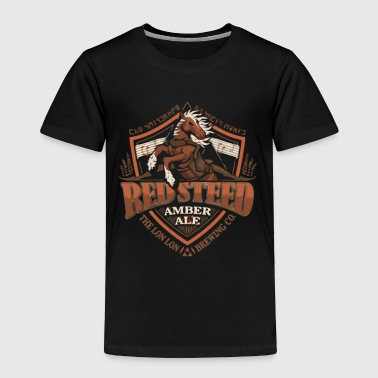 Red Steed Amber Ale - Toddler Premium T-Shirt