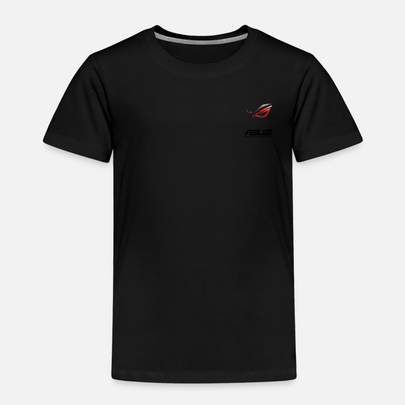 Rog Baby Clothing - ASUS ROG - Toddler Premium T-Shirt black