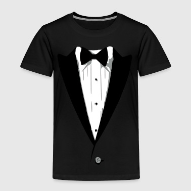 Custom Color Tuxedo Tshirt - Toddler Premium T-Shirt