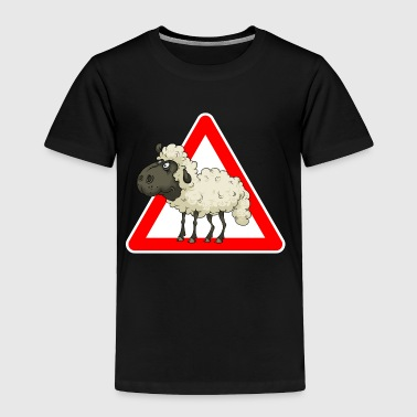 Sheep Cartoon Sheep Comic Sheep - Toddler Premium T-Shirt