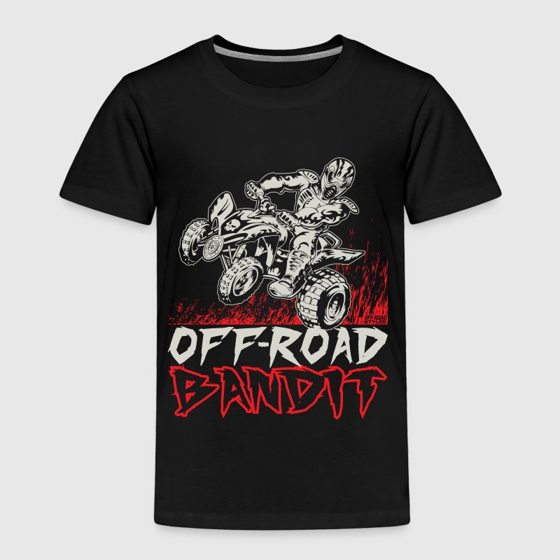 ATV Quad Off-Road Bandit - Toddler Premium T-Shirt