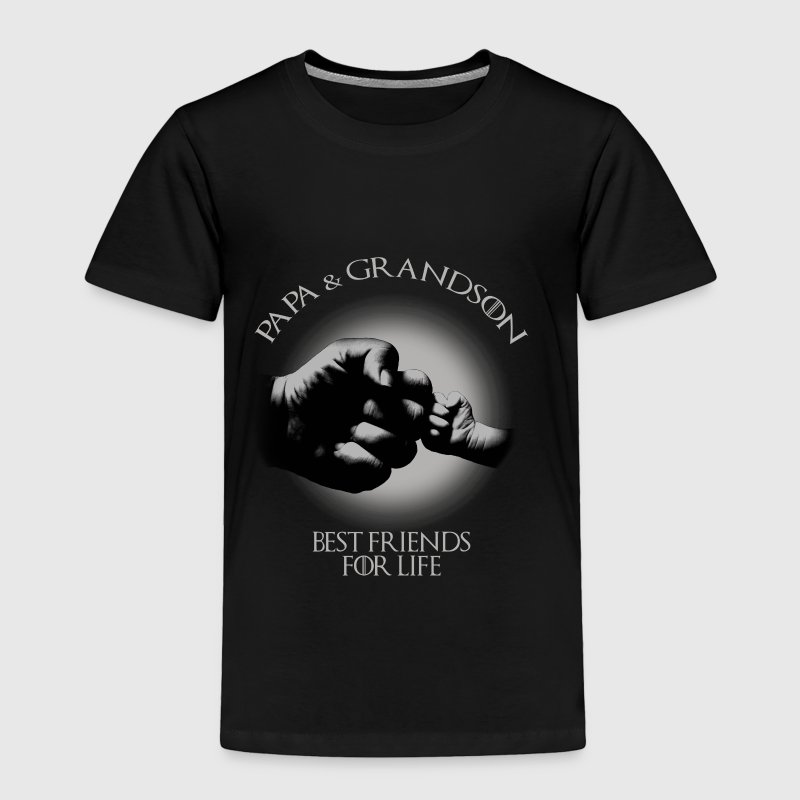 Papa & Grandson Best Friends For Life - Toddler Premium T-Shirt