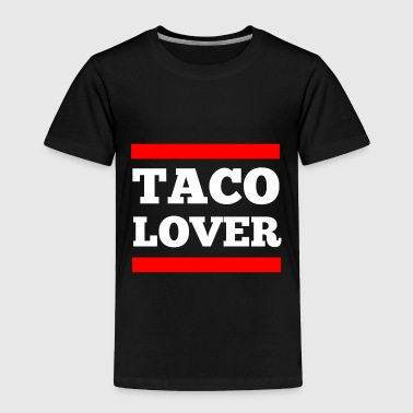 Taco lover - Toddler Premium T-Shirt