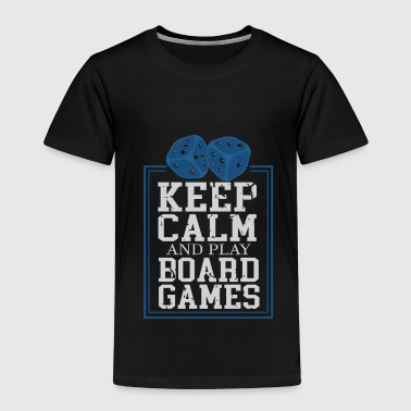 Board Games Games Evening Games Board Games - Toddler Premium T-Shirt