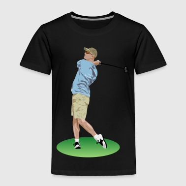 Golf - Toddler Premium T-Shirt
