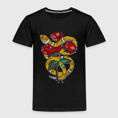 The Rose Snake - Toddler Premium T-Shirt