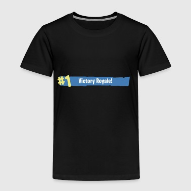Fortnite Battle Royale - Victory Royale WIN - Toddler Premium T-Shirt