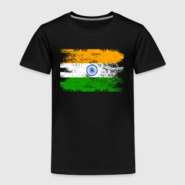 India Shirt Gift Country Flag Patriotic Travel Asia Light - Toddler Premium T-Shirt