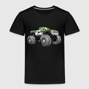 Monster Truck Skulls - Toddler Premium T-Shirt