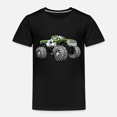 Monster Truck Monster Truck Skulls - Toddler Premium T-Shirt