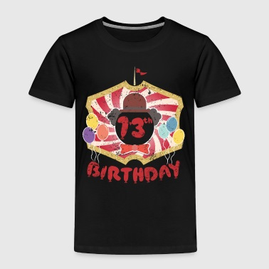 Party Kids Clown Birthday Party 13th Birthday - Toddler Premium T-Shirt