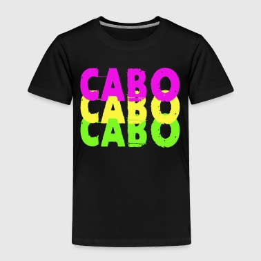 San Colorful Cabo San Lucas Mexico Souvenir Design - Toddler Premium T-Shirt